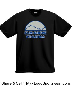 EG Athletics Baseball T-shirt Design Zoom